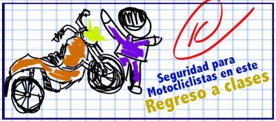 Consejos para motociclistas en el regreso a clases