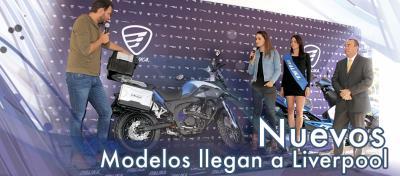 Llegan 5 nuevos modelos ITALIKA a Liverpool