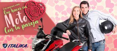 Esto es lo que puedes hacer con tu pareja en moto