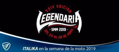 ITALIKA presente en la Semana de la Moto 2019