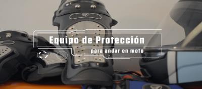 Equipo de protección para andar en moto