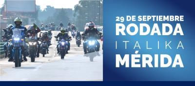 Rodada ITALIKA en Mérida