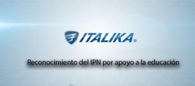 ITALIKA recibe reconocimiento por el IPN