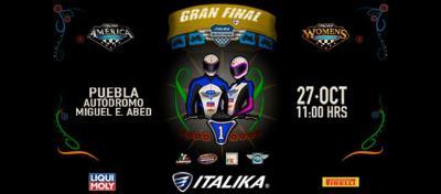 Llega la final de los campeonatos ITALIKA Racing
