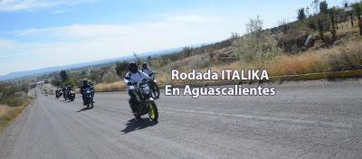 Mucha emoción en la Rodada ITALIKA Aguascalientes