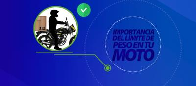 Importancia del límite de peso en tu moto