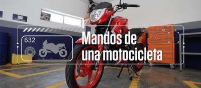 Conoce los mandos de una moto con ITALIKA